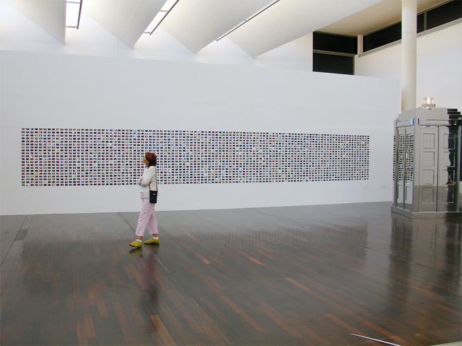 Installation view: STARDUST OU LA DERNIERE FRONTIERE MAC/VAL - Musée d'art contemporain du Val-de-Marne